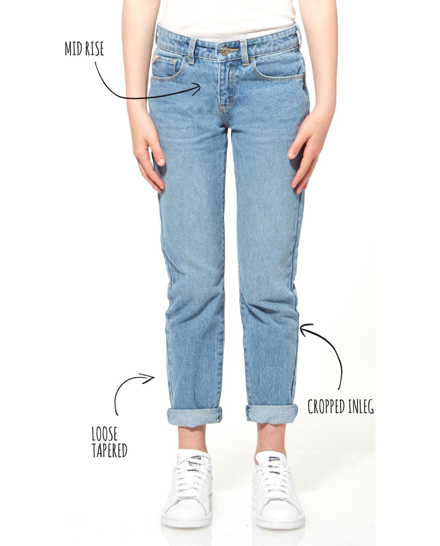 cebedbc3 Riders Junior kids range girlfriend denim jeans
