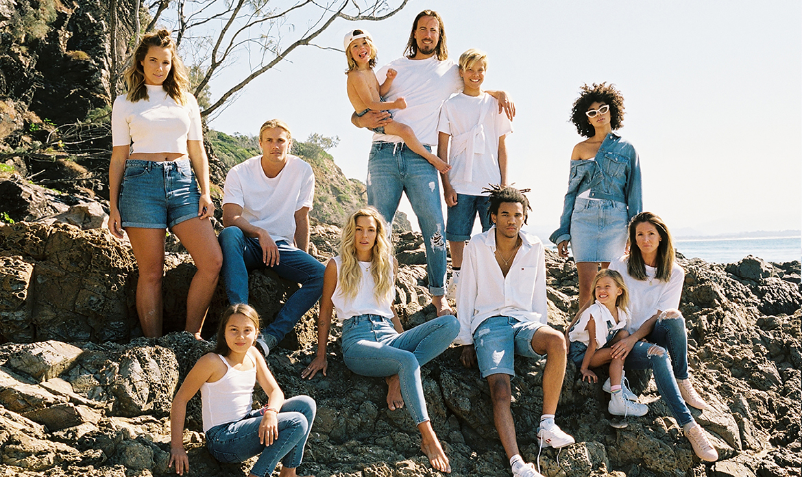 Denim for Every Body Riders By Lee Australia Summer Campaign 2018