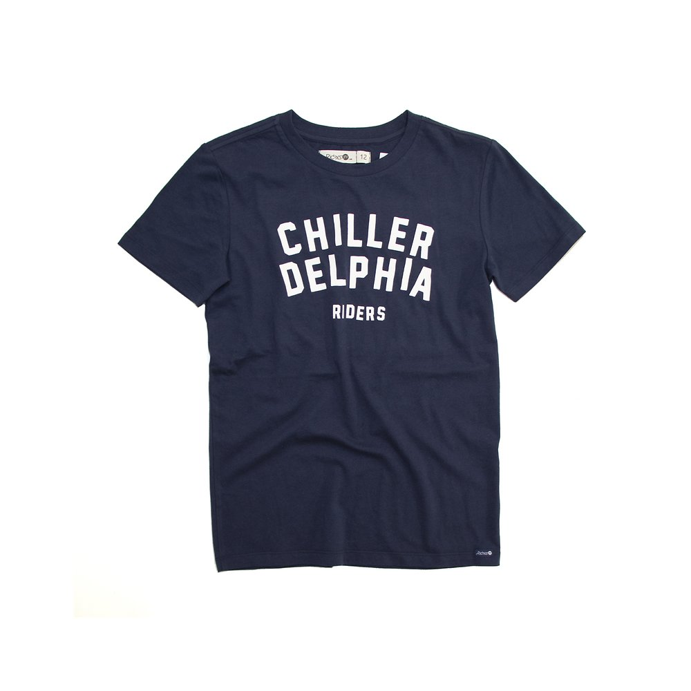 Image of Riders By Lee Indigo THE SS TEE CHILLERDELPHIA // INDIGO