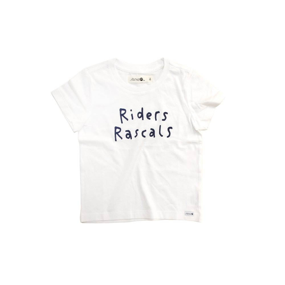 Image of Riders By Lee White THE SS TEE/RIDERS RASCALS // WHITE
