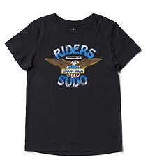 Image of Riders By Lee Black Coal THE SS TEE AMERICANA // BLACK COAL