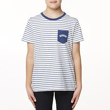Image of Riders By Lee Marine Breton THE SS POCKET TEE // MARINE BRETON