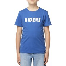 Image of Riders By Lee SPORTS BLUE THE SS TEE_RIDERS BLOCK SPORTS BLUE