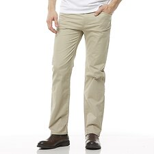 Image of Riders By Lee Stone STRAIGHT STRETCH PANT // STONE