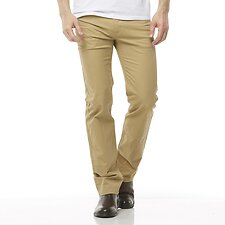 Image of Riders By Lee Stretch Light Camel STRAIGHT STRETCH PANT // LIGHT CAMEL