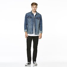 Image of Riders By Lee Pretender Blue DENIM JACKET // BLUE RIOT