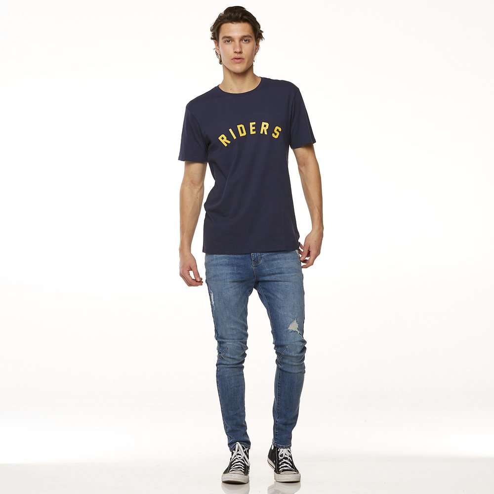 Image of Riders By Lee Indigo TRADEMARK TEE // INDIGO