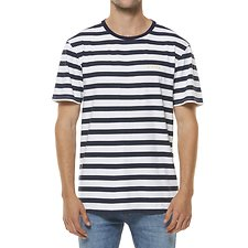 Image of Riders By Lee Midnight Stripe TRADEMARK TEE // MIDNIGHT STRIPE