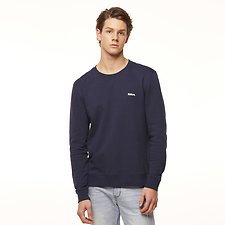 Image of Riders By Lee Navy/White SIGNATURE TRADEMARK FLEECE // NAVY/WHITE