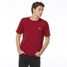 Image of Riders By Lee Dark Red SIGNATURE TRADEMARK TEE // DARK RED