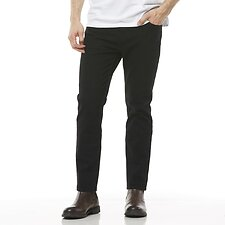 Image of Riders By Lee Flat Black CLASSIC STRAIGHT SLIM // FLAT BLACK