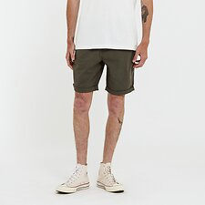 Image of Riders By Lee UTILITY GREEN R3 UTILITY CANVAS SHORT UTILITY GREEN