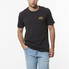 Image of Riders By Lee COAL FADE TRADEMARK TEE COAL FADE