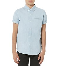 Picture of SS SHIRT CHAMBRAY BLUE