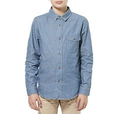 Image of Riders By Lee Chambray Spot  LS SHIRT // CHAMBRAY SPOT