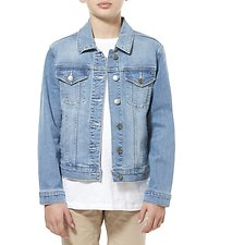 Picture of CLASSIC DENIM JACKET // REPUTATION BLUE