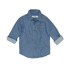 Picture of LS SHIRT // CHAMBRAY SPOT