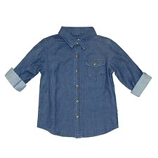 Picture of LS SHIRT WASHED // CHAMBRAY