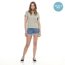 Picture of EVERYDAY TEE // GREY MARLE/WHITE PACK
