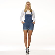 Image of Riders By Lee Retreat Blue CLASSIC DUNGAREE SHORT // RETREAT BLUE