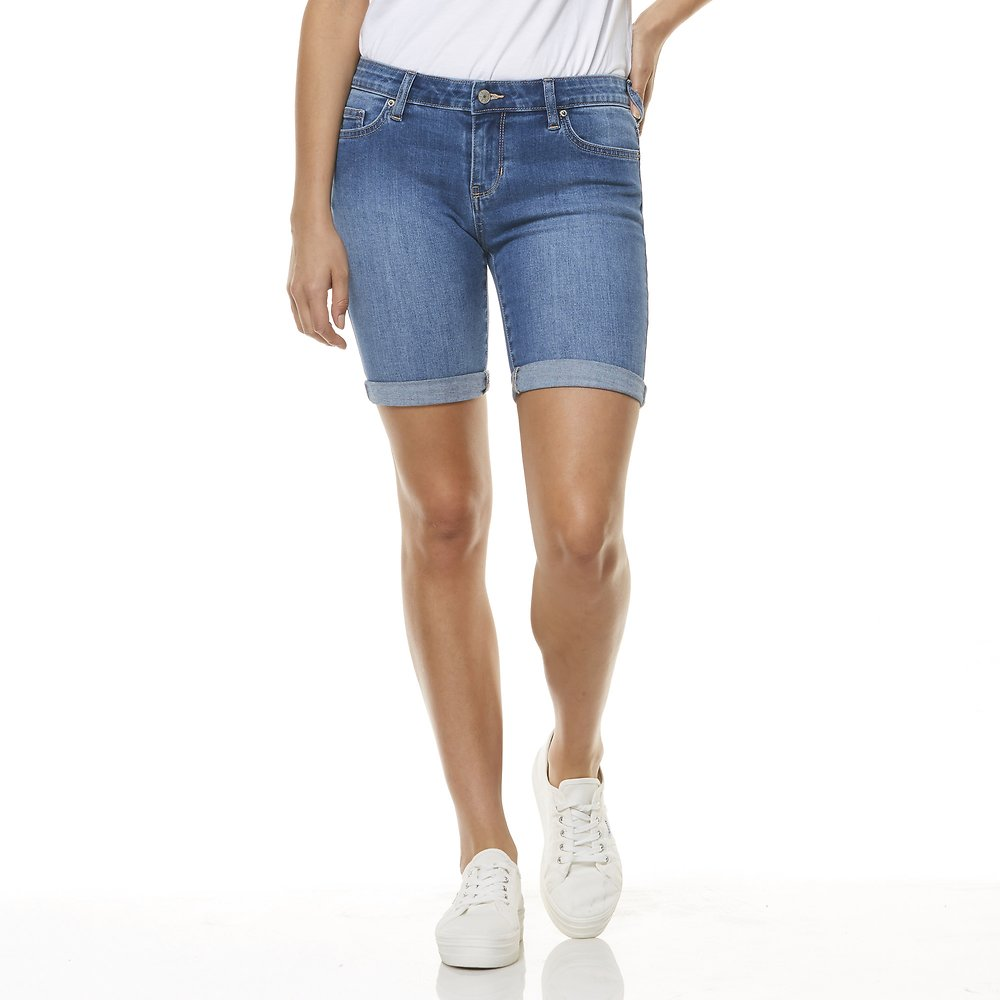 Image of Riders By Lee Saint Blue KNEE LENGTH SHORT // SAINT BLUE