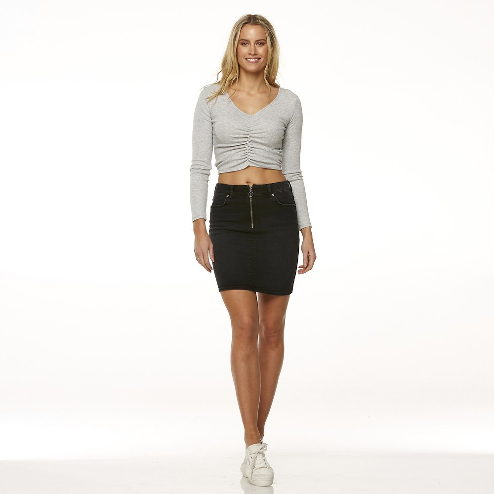 Image of Riders By Lee Bandit Black HI RIDER SKIRT // BANDIT BLACK