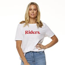 Image of Riders By Lee White MONTEREY RELAXED TEE // WHITE