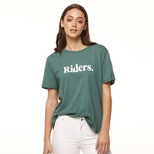 Image of Riders By Lee Sage IMPRINT RELAXED TEE // SAGE