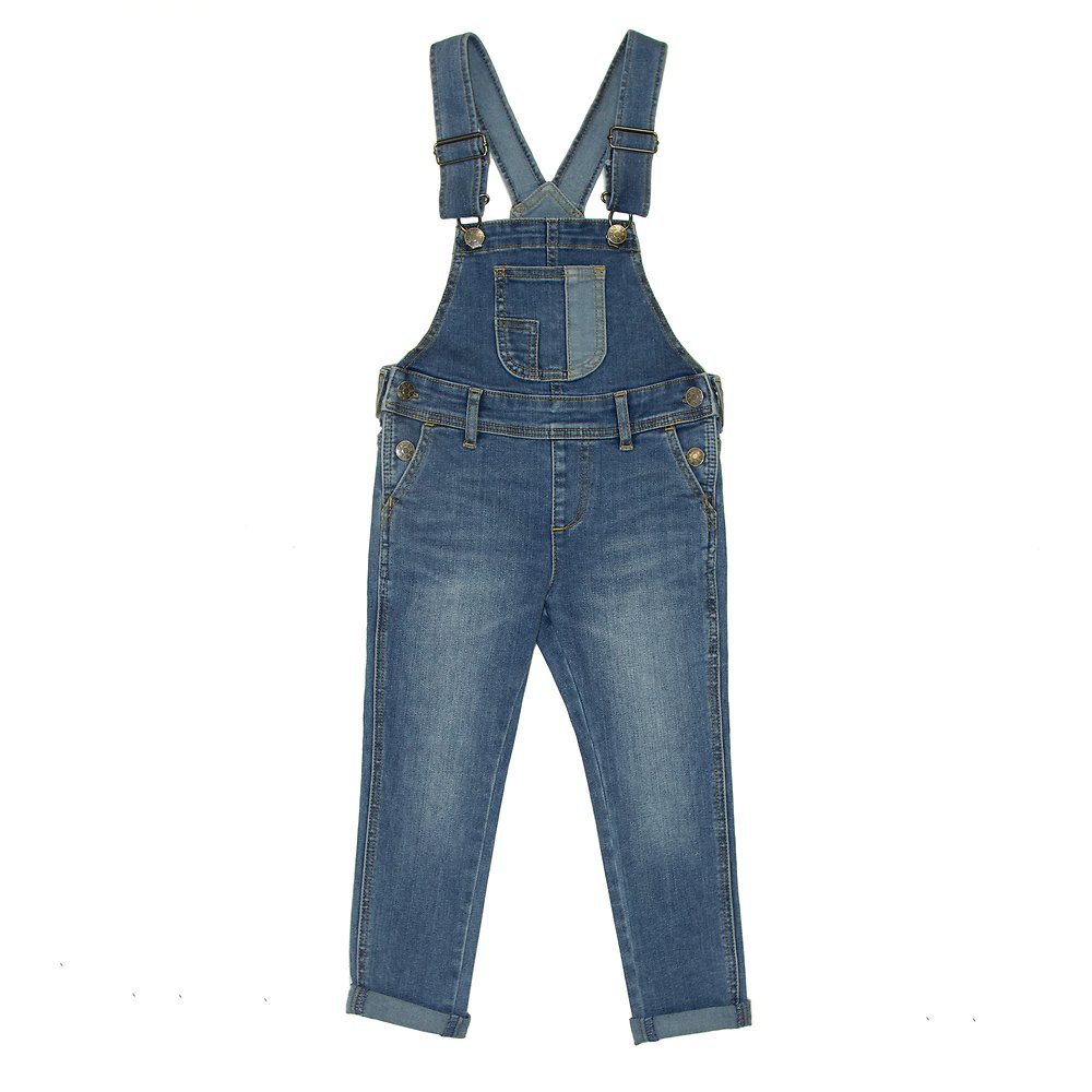 Image of Riders By Lee Future Blue SLIM DUNGAREE // FUTURE BLUE
