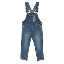 Picture of SLIM DUNGAREE // FUTURE BLUE