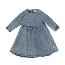Picture of SMOCK DRESS WASHED // CHAMBRAY