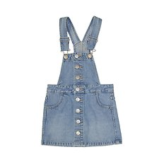 Picture of DUNGAREE BUTTON DRESS SUMMER VINTAGE