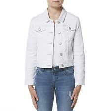 Image of Riders By Lee Bright White CLASSIC DENIM JACKET BRIGHT WHITE