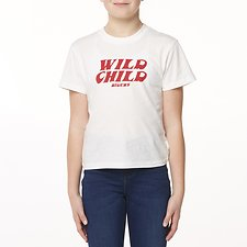 Image of Riders By Lee Bone THE CLASSIC TEE WILD CHILD // BONE