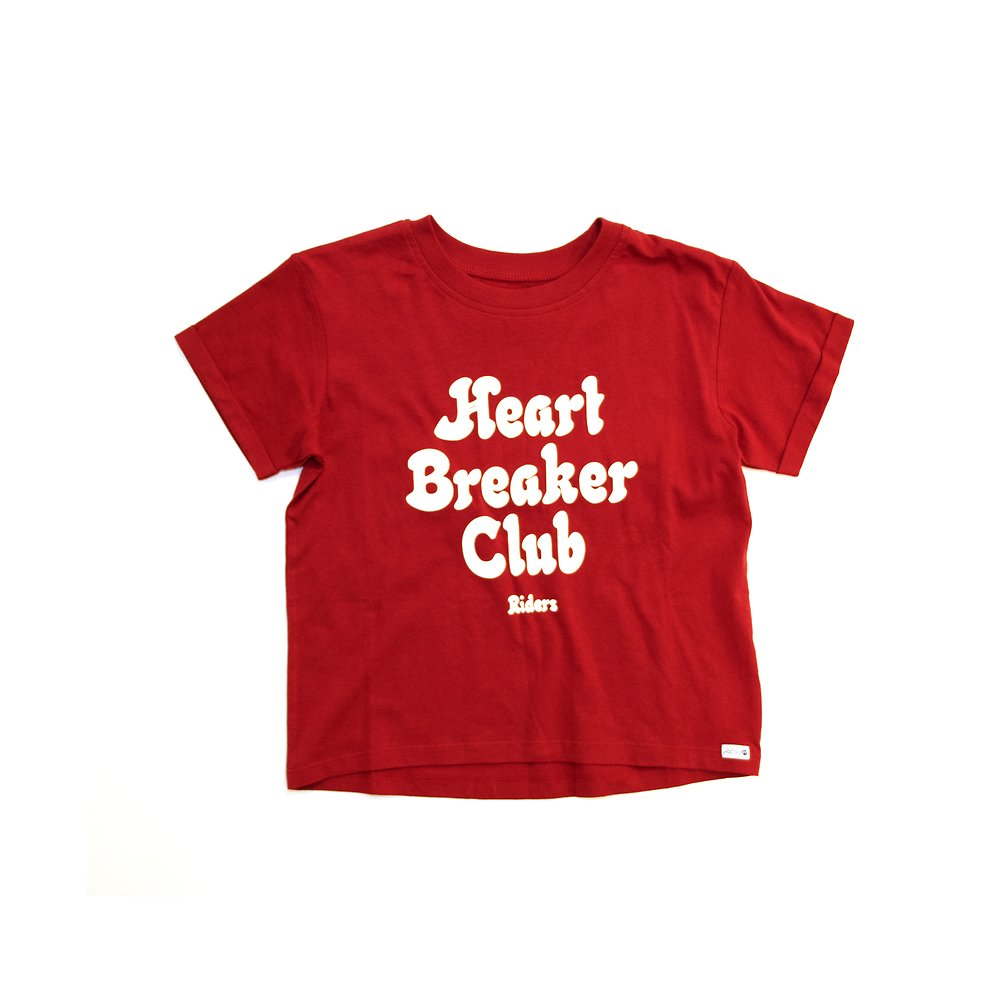 Image of Riders By Lee Pepper Red THE CROP CREW HEART BREAKER // PEPPER RED