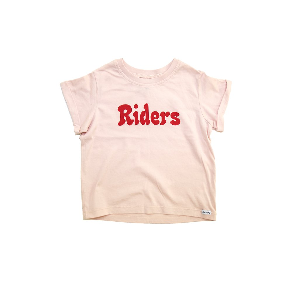 Image of Riders By Lee Blush THE CROP CREW BUBBLE RIDERS // BLUSH
