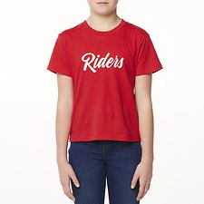 Image of Riders By Lee Dark Red THE CLASSIC TEE RIDERS SQUAD // DARK RED