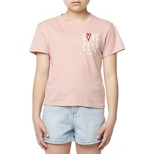 Image of Riders By Lee DUSTY ROSE THE CLASSIC TEE_LOVE CLUB DUSTY ROSE