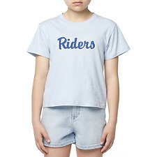 Image of Riders By Lee Ink THE CLASSIC TEE_RIDERS BABY BLUE